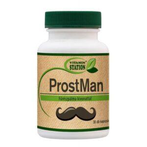 Vitamin Station Prostman kapszula - 30db