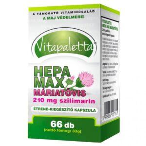 Vitapaletta Hepa Max Máriatövis kapszula - 66db