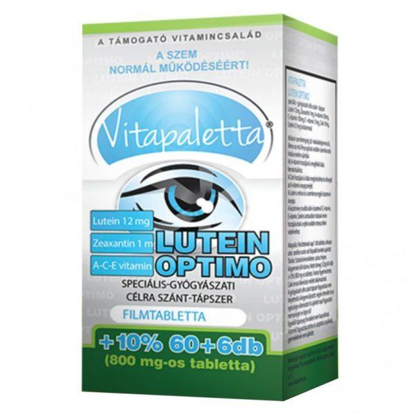 Vitapaletta Lutein Optimo kapszula - 66db