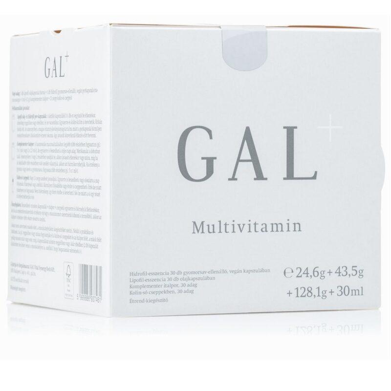 GAL Multivitamin+ készítmény - 30db+30db+30adag+30ml