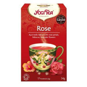 Yogi Bio rózsa tea - 17 filter