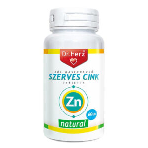 Dr. Herz Szerves Cink tabletta - 60db