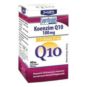 Jutavit Koenzim Q10 100 mg + E-vitamin
