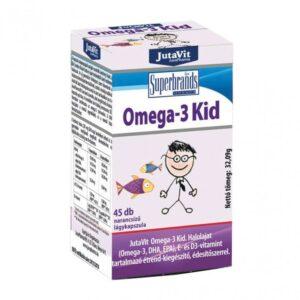 Jutavit Omega-3 Kid lágykapszula