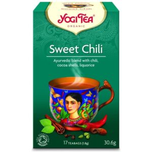Yogi Bio Édes chilli tea - 17 filter
