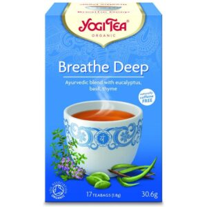 Yogi Bio mély lélegzet tea - 17 filter
