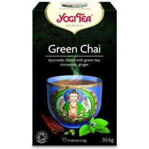 Yogi Bio Zöld Chai tea - 17 filter