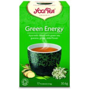 Yogi Bio zöld energia tea - 17 filter