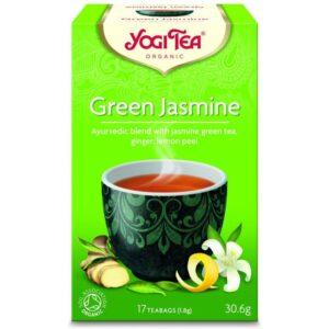 Yogi Bio zöld jázmin reggel tea - 17 filter