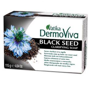 Dabur Vatika DermoViva Black Seed tisztító szappan