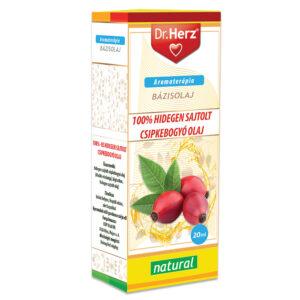 Dr. Herz 100% Hidegen sajtolt csipkebogyóolaj – 20ml
