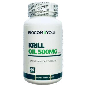 Biocom Krill Oil kapszula - 60db