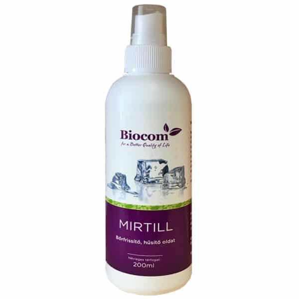 Biocom Mirtill bőrfrissítő hűsítő oldat - 200ml