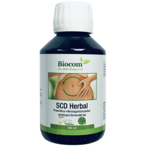 Biocom SCD Herbal Probiotikus ital - 150ml