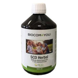 Biocom SCD Herbal Élőflórás étrend-kiegészítő ital - 500ml