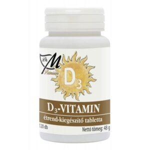 Dr. M Prémium D3-vitamin