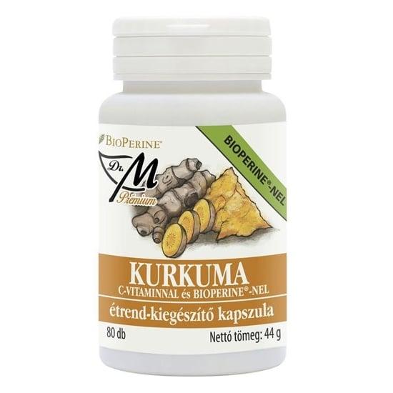 Dr. M Prémium Kurkuma C-vitamin