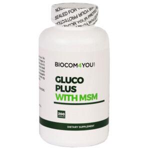 Biocom Gluco Plus + MSM kapszula - 200db