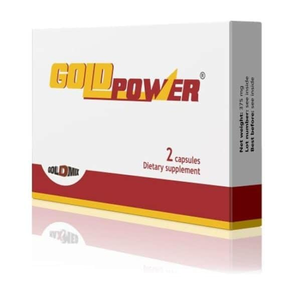 Gold Power potencianövelő kapszula