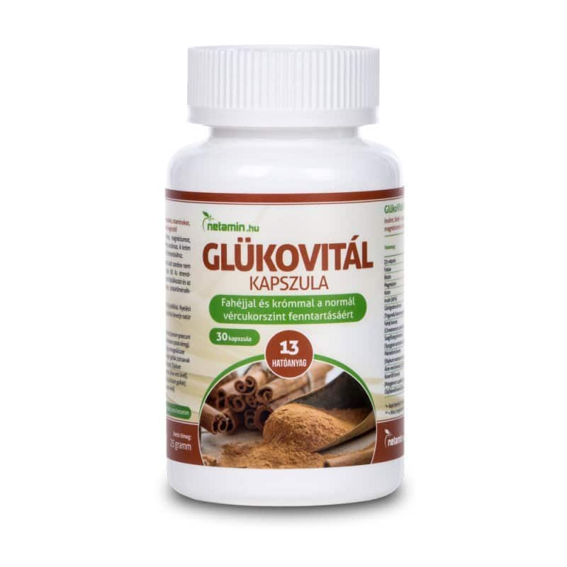 Netamin GlükoVitál kapszula