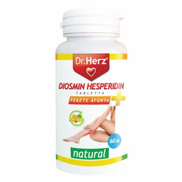 Dr. Herz Diosmin Hesperidin + Feketeáfonya tabletta - 60db