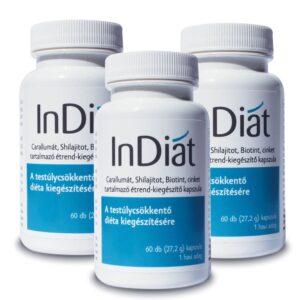 InDiat – testsúly csökkentést elősegítő kapszula – 60db