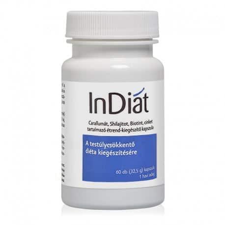 InDiat fogyókúrát segítő kapszula - 60db