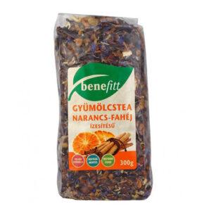 Interherb Benefitt narancs-fahéj tea - 300g