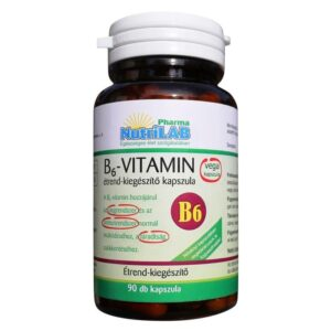 Nutrilab B6-vitamin kapszula – 90db