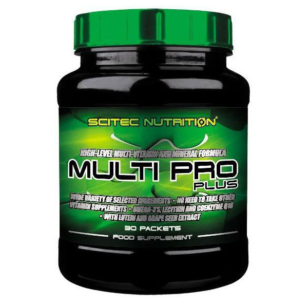 Scitec Nutrition Multi Pro Plus multivitamin - 30 tasak
