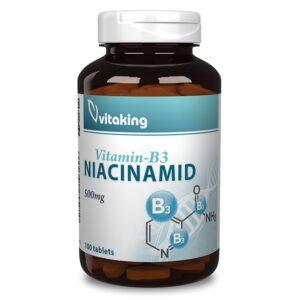 Vitaking Niacinamid 500mg tabletta – 100db