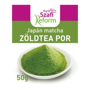 Szafi Reform japán matcha zöldtea por - 50g