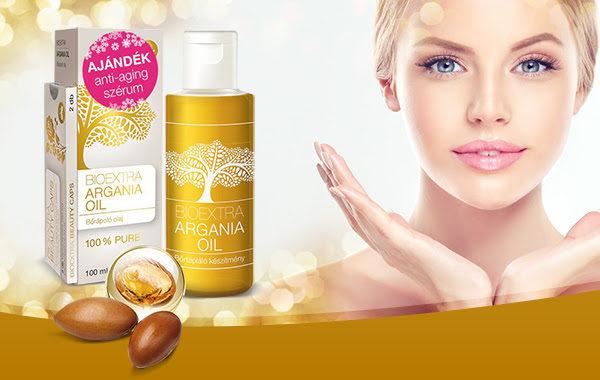 Argán olaj akció + ajándék Beauty Caps - most csak 2.990 Ft!