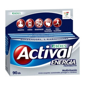 Béres Actival Energia filmtabletta - 90db