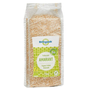 Biorganik Bio puffasztott amaránt - 200g