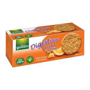 Gullón Digestiv zabpelyhes narancsos keksz