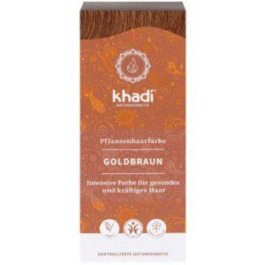 Khadi Növényi hajfesték - aranybarna