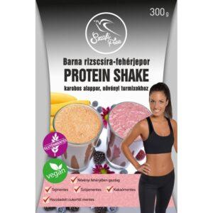 Szafi Free Protein shake barna rizscsíra fehérjepor – 300g