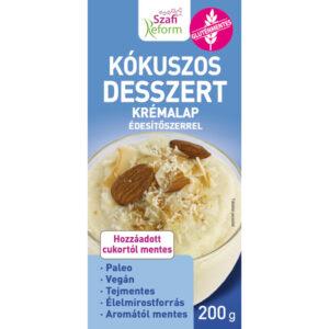 Szafi Reform Kókuszos desszert krémalap - 200g