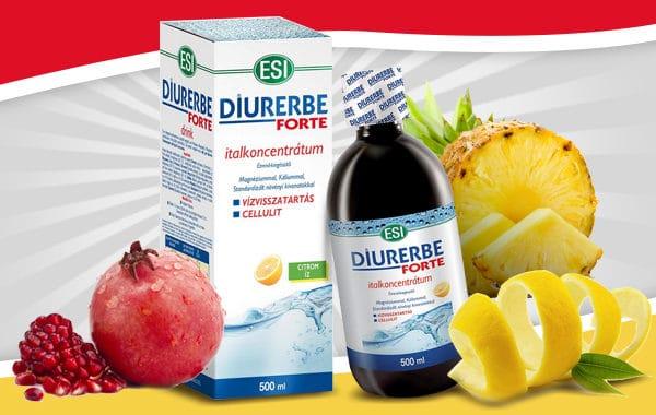 ESI Diurerbe Forte – A természetes vízhajtó és salaktalanító