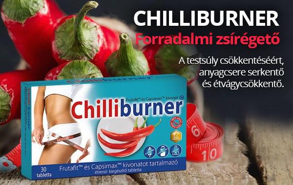 Chiliburner a forradalmi zsírégető