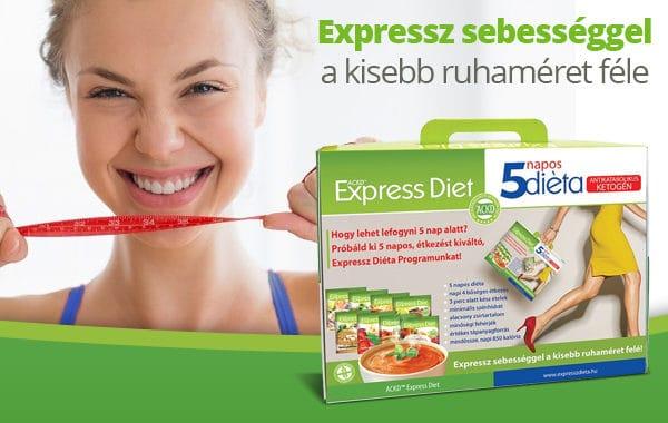Natur Tanya Expressz 5 napos diéta program -10% kedvezménnyel!
