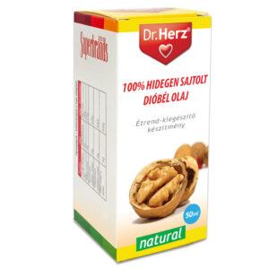 Dr. Herz Dióbél olaj 100% hidegen sajtolt - 50ml