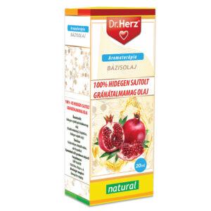 Dr. Herz Gránátalmamag olaj 100% hidegen sajtolt - 20ml