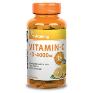 Vitaking C+D vitamin - 90db