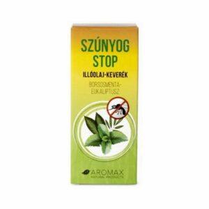 aromax szúnyog stop borsmenta-eukaliptusz illóolaj keverék – 10ml
