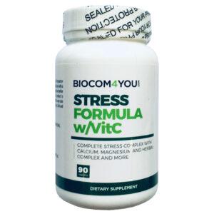 Biocom Stress Formula w/ VitC tabletta - 90db