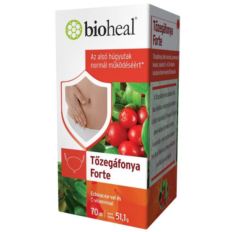 Bioheal Tőzegáfonya Forte kapszula - 70db