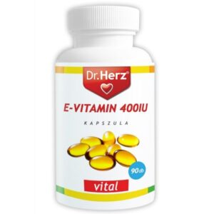 dr. herz e-vitamin 400iu lágyzselatin kapszula – 60db