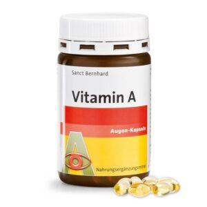 Sanct Bernhard A-vitamin kapszula - 180db